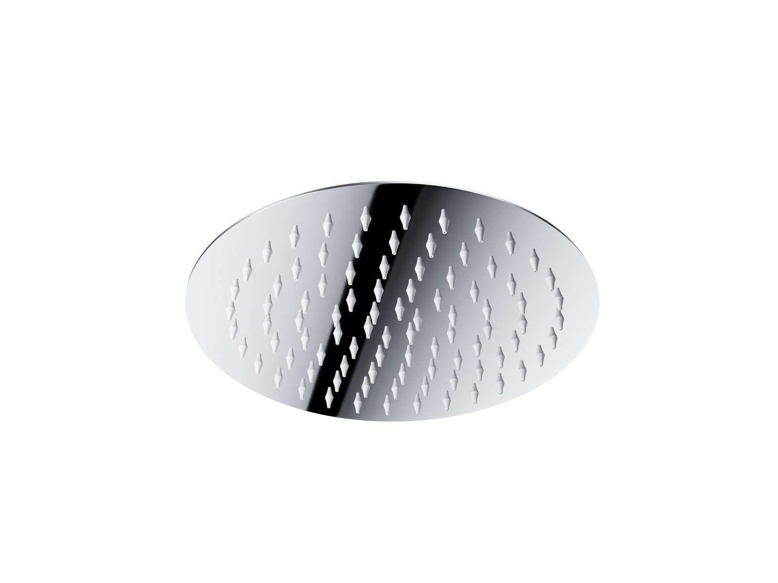 Štíhla sprchová hlavica Corsan CMDO25, okrúhla 25 cm