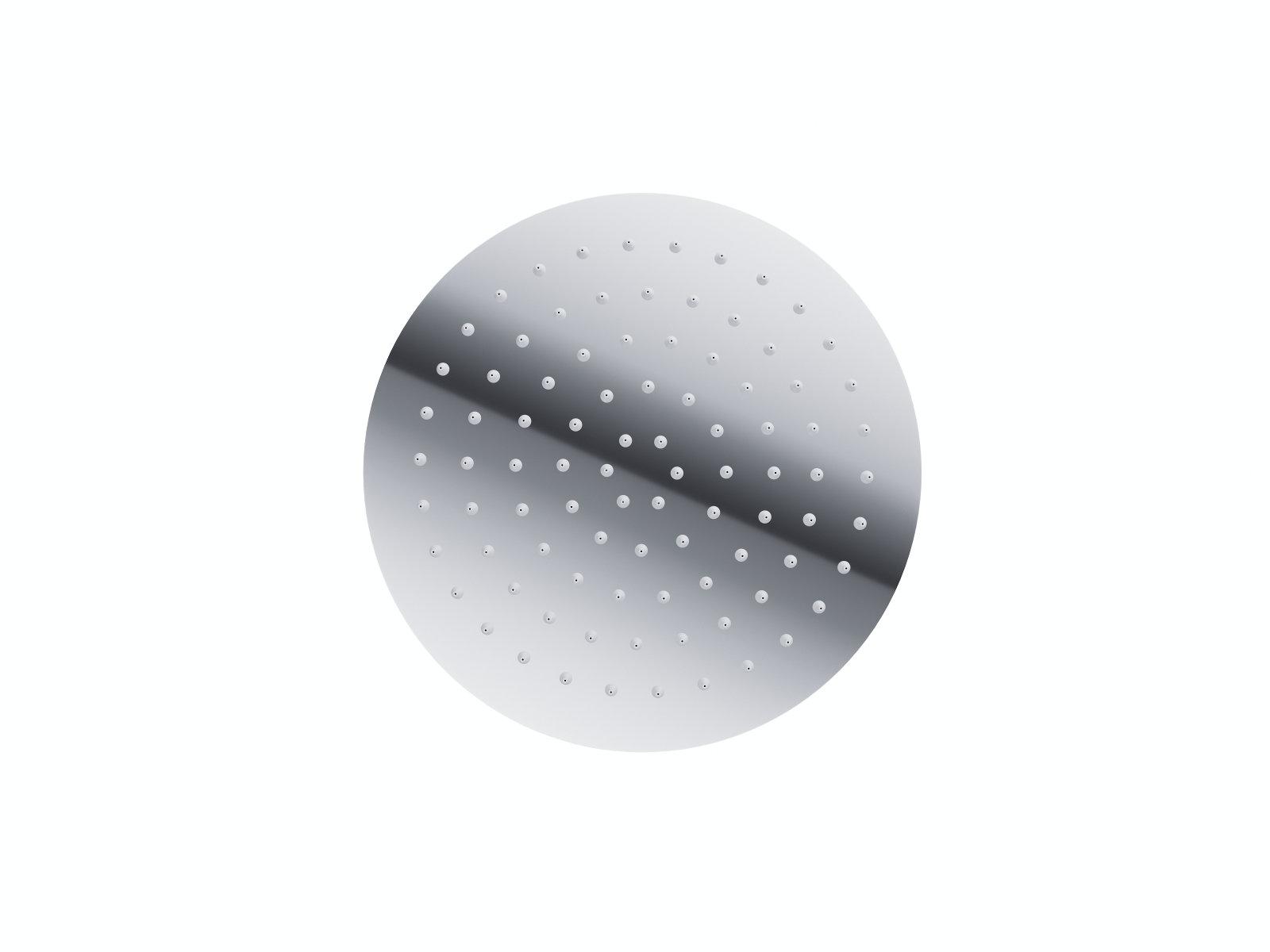 Sprchová hlavica kruhová chrómová Corsan CMDO25 LUGO 25 cm