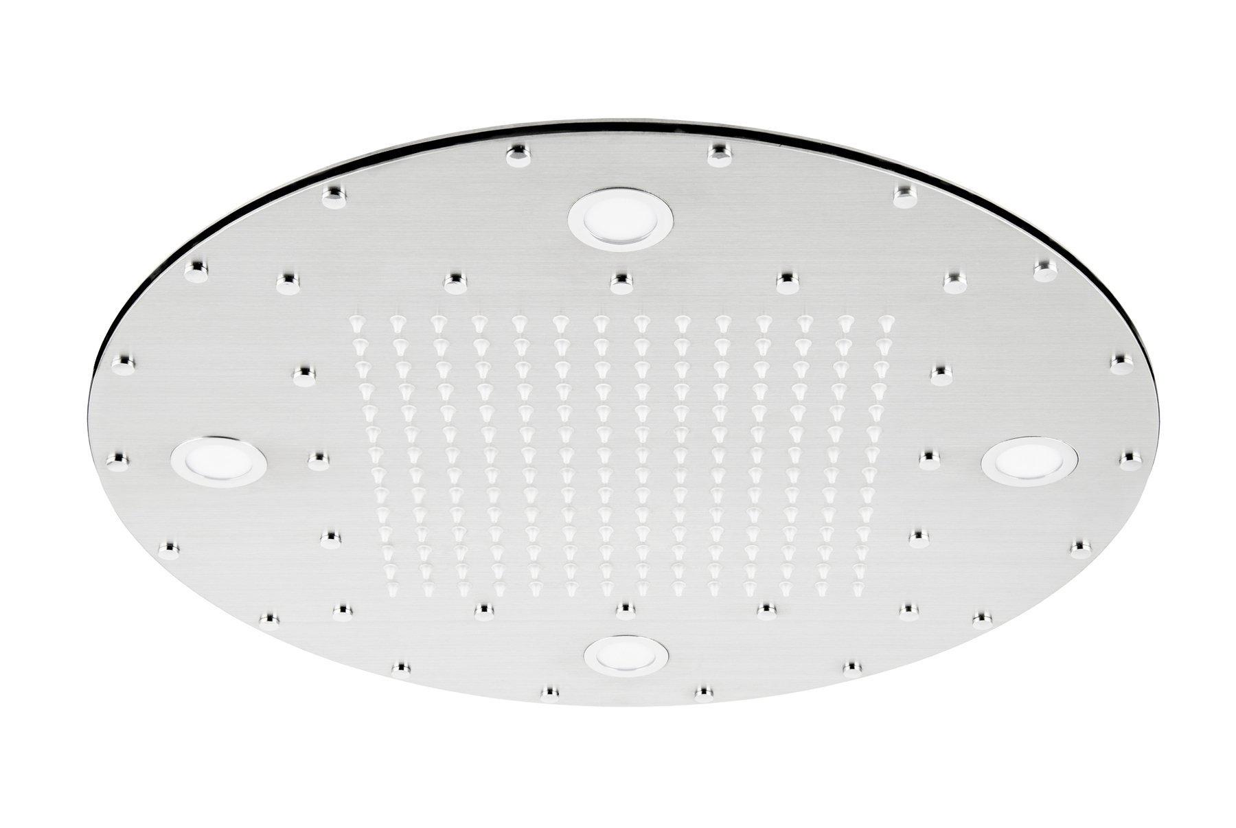 Sprchová hlavica Corsan CMDO40 Led, 40 cm