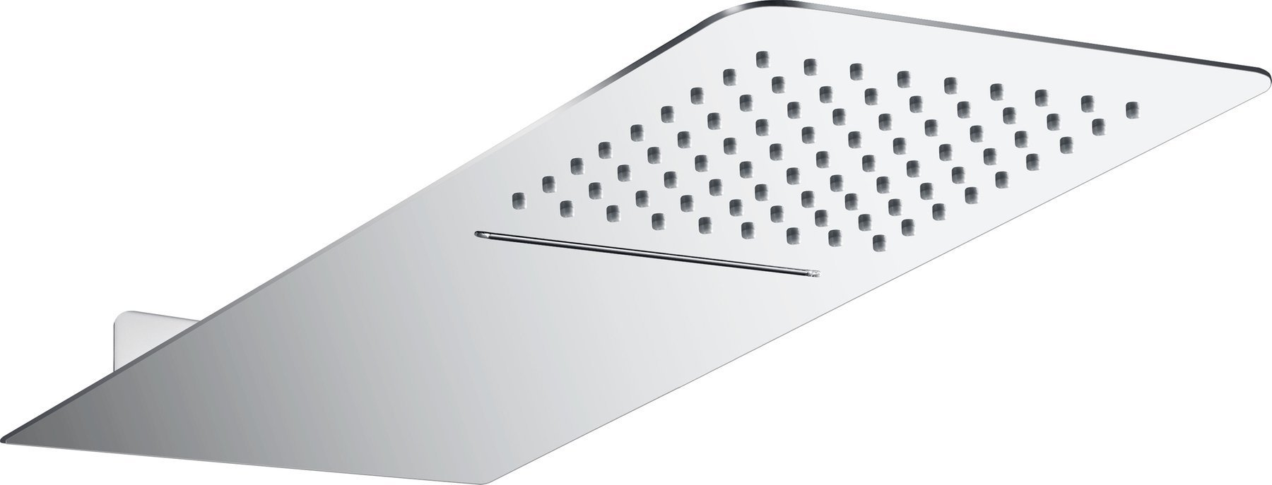Obdĺžniková sprchová hlavica Corsan CMD59 s kaskádou