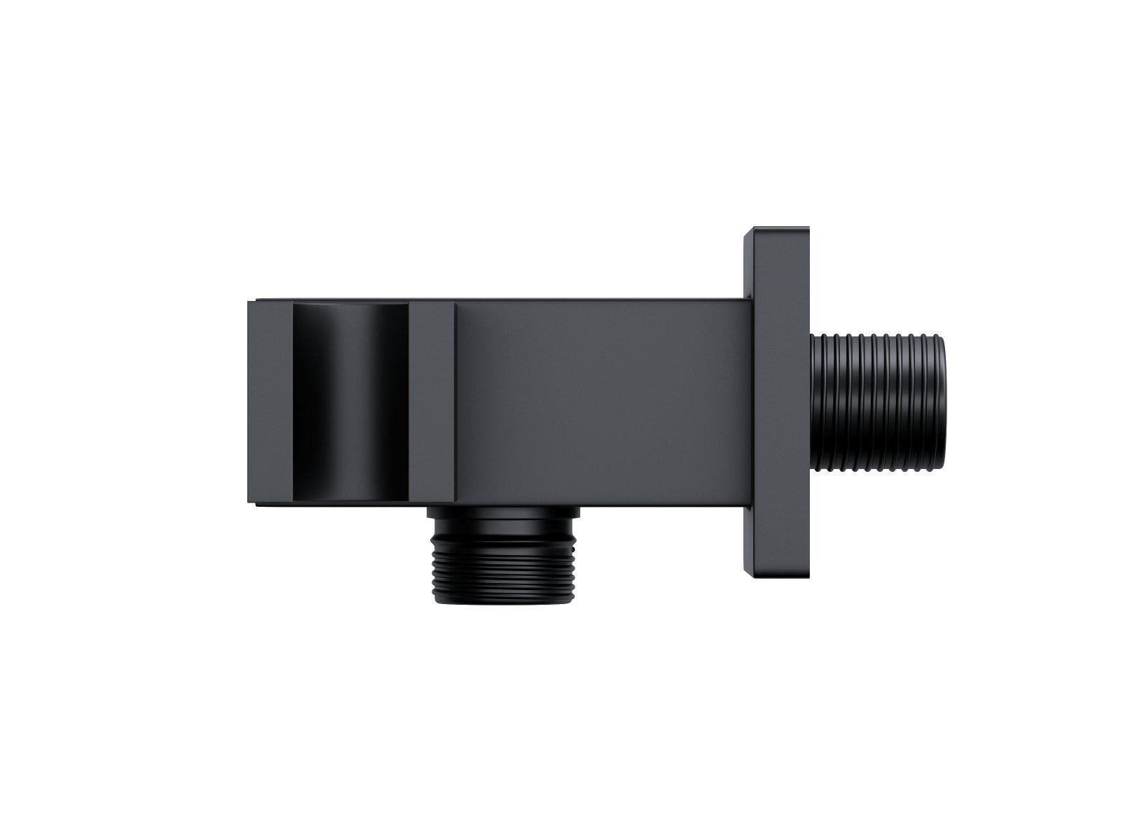 Corsan CMU189BL čierny držiak na sprchu s pripojením na ručnú sprchu