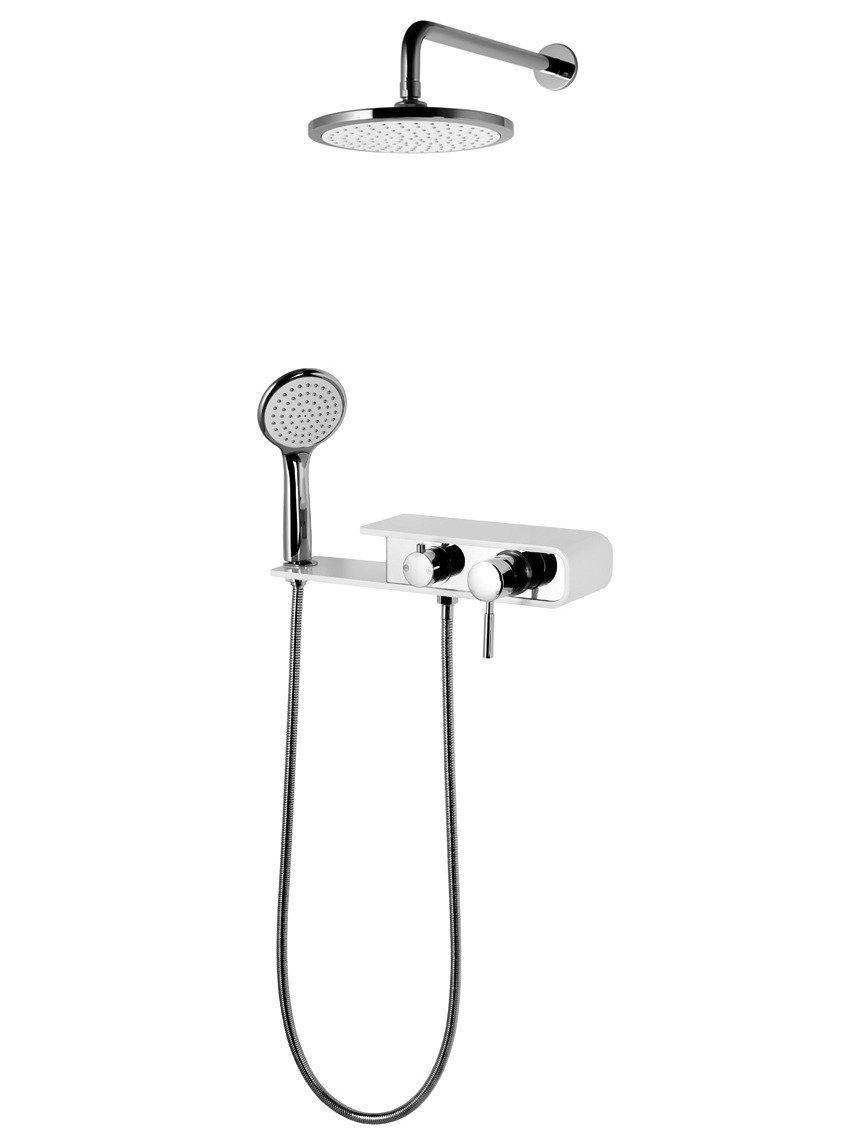 Sprchový set Corsan CMN001 Konekto, biely
