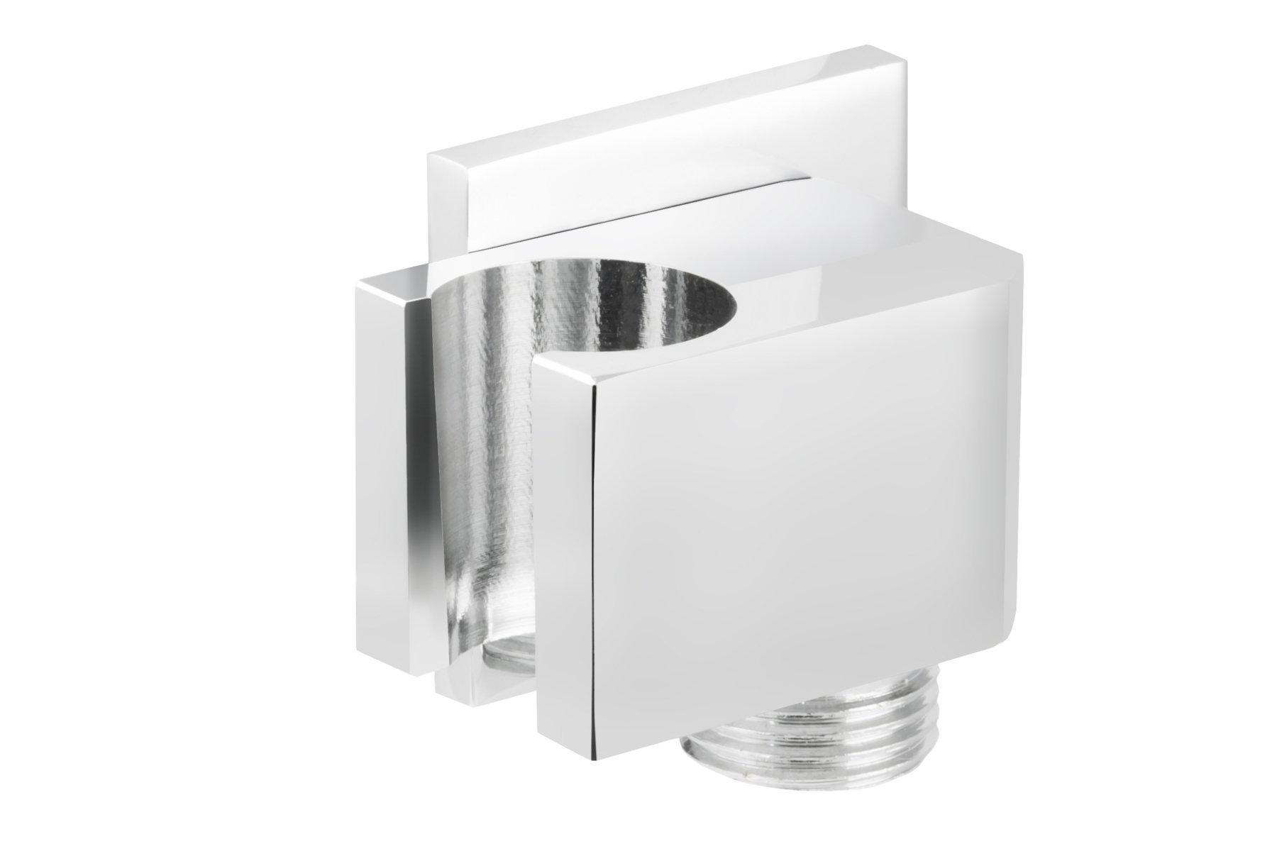 Sprchová rukoväť Corsan CMU006 s pochrómovaným pripojením na ručnú sprchu